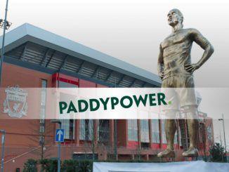 БК Paddy Power открыла памятник возле стадиона в Ливерпуле