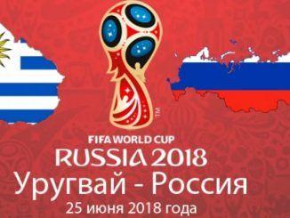 Уругвай - Россия 3:0